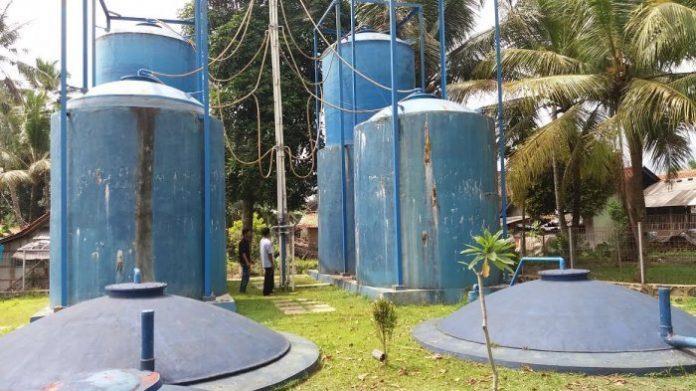 Reaktor Energi Bio Gas Limbah Tahu,, Desa Kalisari, Kecamatan Cilongok, Kabupaten Banyumas, Provinsi Jawa Tengah, Indonesia