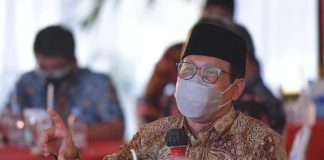 Menteri Desa PDTT RI, Abdul Halim Iskandar dalam kunjungan kerja ke Rembang, Jawa Tengah, Indonesia. Foto : Kemendesa PDTT RI