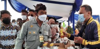 Menteri Pertanian RI, Syahrul Yasin Limpo Hadiri Ekspose Inovasi Tanaman Hias, Kabupaten Cianjur, Jawa Barat, Indonesia. Foto : https://mediaindonesia.com