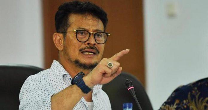 Menteri Pertanian Republik Indonesia, Syahrul Yasin Limpo