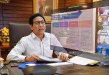 Rapat Virtual Sosialisasi Strategi Tuntaskan Kemiskinan Ekstrim. Foto : Kemendesa PDTT Republik Indonesia