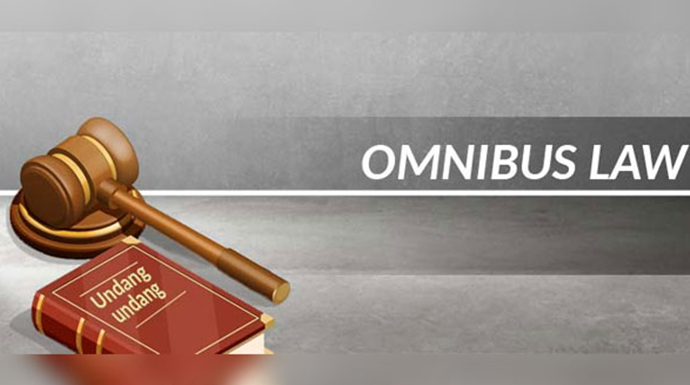 Ilustrasi Omnibus Law atau UU Cipta Kerja