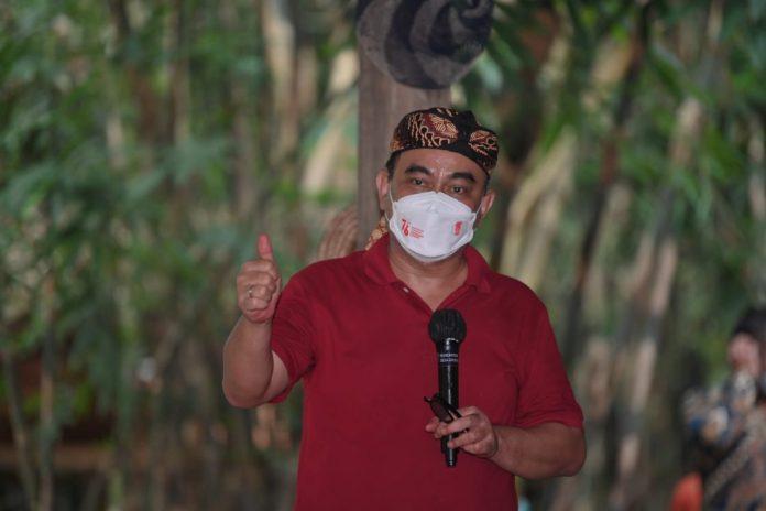 Wakil Menteri Pedesaan PDTT RI, Budi Arie Setiadi saat kunjungan kerja di Kebumen, Jawa Tengah, Indonesia. Foto : Kemendesa PDTT RI