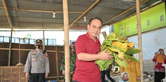 Wakil Menteri Pedesaan PDTT RI, Budi Arie Setiadi saat kunjungan kerja ke perkebunan tembakau di Temanggung, Jawa Tengah, Indonesia. Foto : Kemendesa PDTT RI