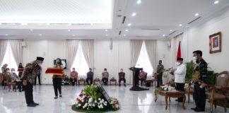 Wapres RI Serahkan Penghargaan Provinsi dan Kabupaten Dengan Peningkatan Produksi Padi Tertinggi, Jakarta, Indonesia. Foto : Kementerian Pertanian RI